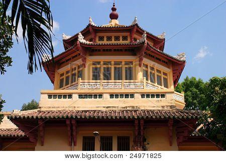 Ho Chi Minh city  - pagoda