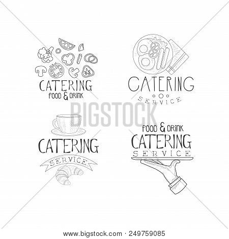 Set 4 Sketch Style Vector & Photo (Free Trial) | Bigstock