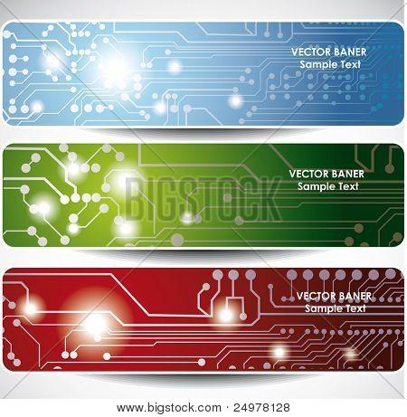 Electronics web banners