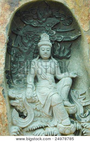 Stone Spiritual Statue