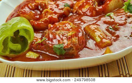 Assam fish curry - Assam Pedas Fish , lassic Peranakan or Nyonya dish poster