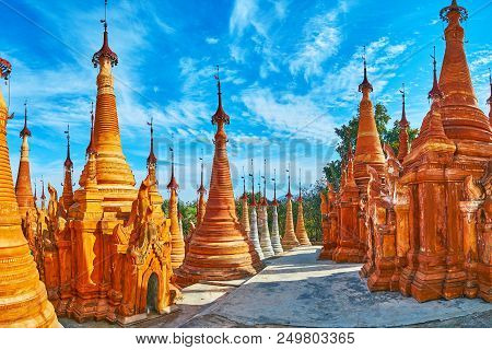 Nyaung Ohak Archaeological Site Is The Perfect Example Of Ancient Buddhist Architectural Tradition O