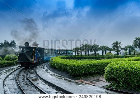 May 01,2017.the Darjeeling Himalayan Railway, Also Known As The Toy Train, Is A 2 Ft Narrow Gauge Ra
