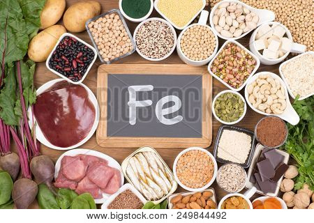 Food rich in iron