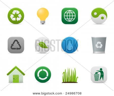 smooth series > recycling/environmental icons