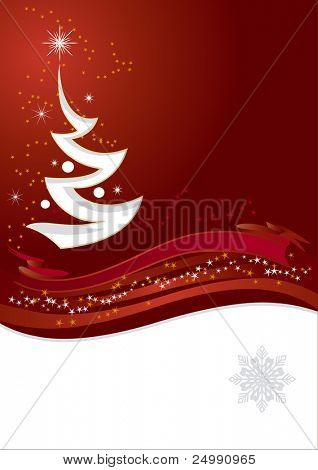 New Year's and Christmas background