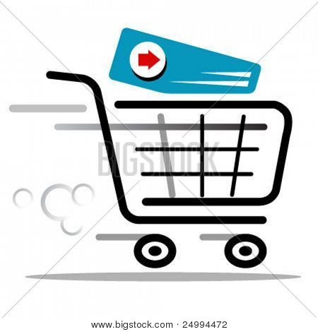 proceed to checkout cart web icon
