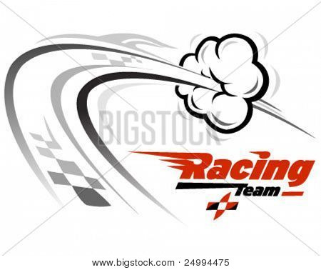 vector icon related with speed and racing