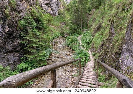 The Beauty Of Nature In Slovakia. Juranova Valley.