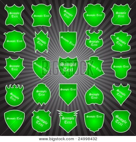 25 different coat of arms - green edition (part 3)