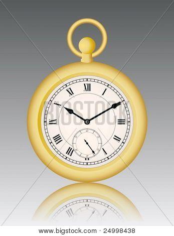 Vintage gold watch