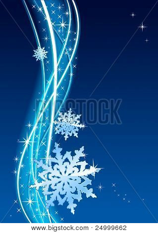Vector dark-blue background, no size limit. proportion of A4 format vertical.