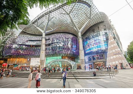 Ion Shopping Mall On Singapore Orchard Road, Singapore, 4 Of March 2017 - Modern Department Store Bu