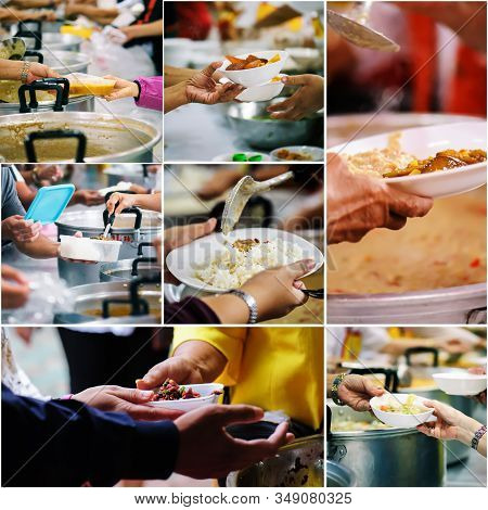 Collages Food : The Concept Of Food Sharing Help Solve Hunger For The Homeless