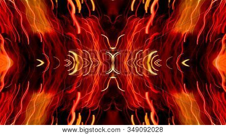 an abstract light blur background