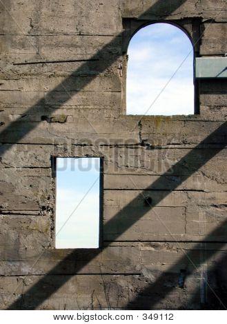 Stone Window Silhouette