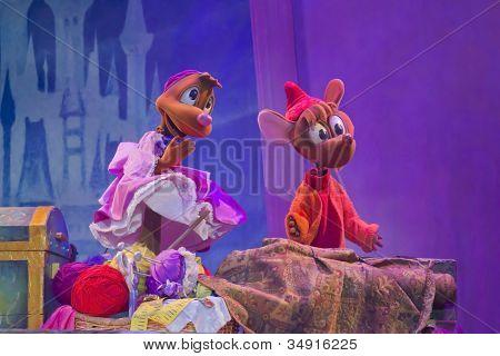 Cinderella Mice Ready To Sew