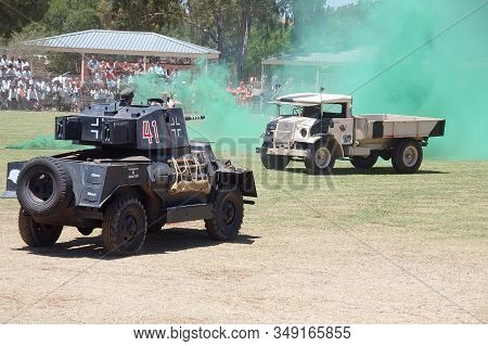 Bloemfontein, South Africa - November 1, 2008: A  Marmon-herrington Mk.iv Armoured Vehicle, In World