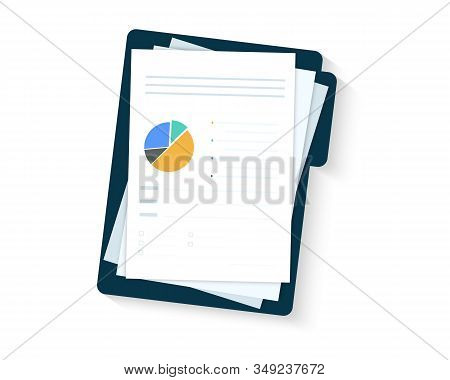 Auditing Concepts. Sales Growth Report, Analytics, Boosted Sales Graph Analytics Data. Document With