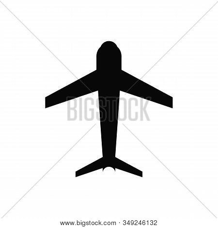 Airplane Icon, Airplane Icon Vector, In Trendy Flat Style Isolated On White Background. Airplane Ico