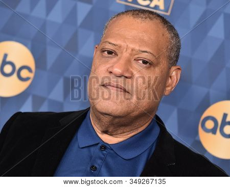 LOS ANGELES - JAN 08:  Laurence Fishburne arrives for the ABC Winter TCA Party 2020 on January 08, 2020 in Pasadena, CA