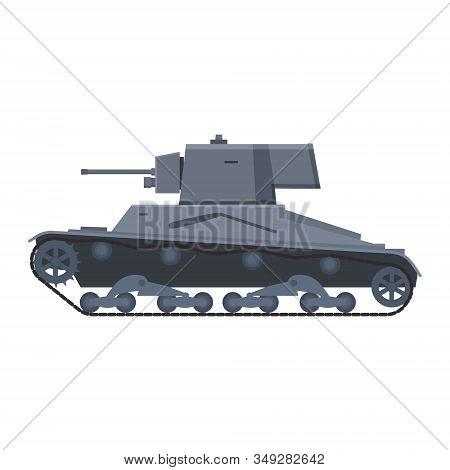 Tank Infantry Vickers Mk.e World War 2 Britain Tank. Military Army Machine War, Weapon, Battle Symbo