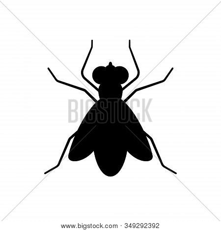 Fly Sign Icon Isolated Vector Illustration . Template For Your Design