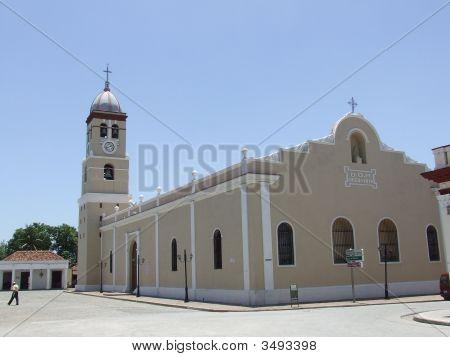 Cathedral At Bayamo City