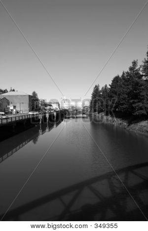 Bridge Over Petaluma River