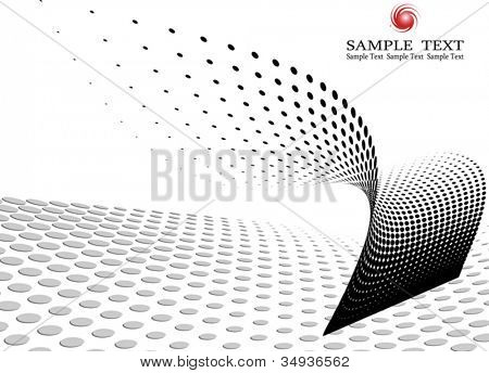 Business background composition, Web template (halftone)