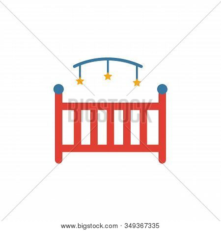 Cot Icon. Simple Element From Baby Things Icons Collection. Creative Cot Icon Ui, Ux, Apps, Software