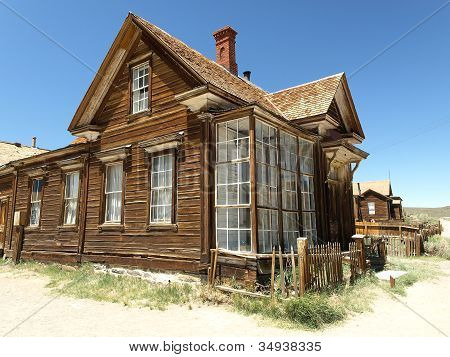 Abandoned House In Bodie, Ghost Town