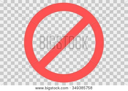 No Parking Sign.do Not Enter Sign.restriction Icon. No Sign. Censor, Red Prohibition Vector Badge. R