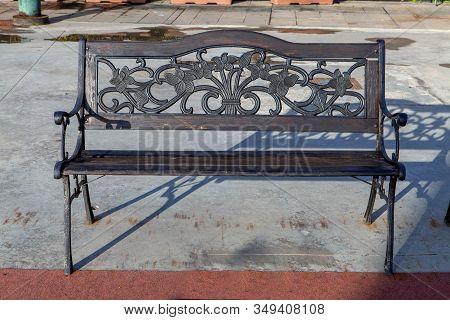 A Street Bench On The Island Of Giudecca