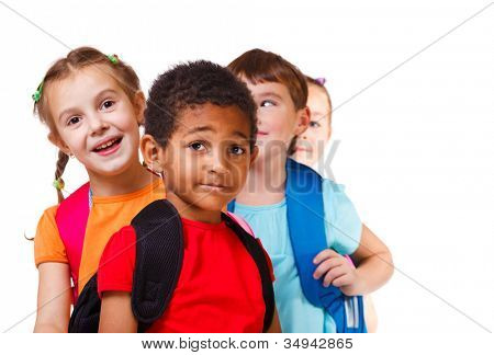 Kids ready back to school