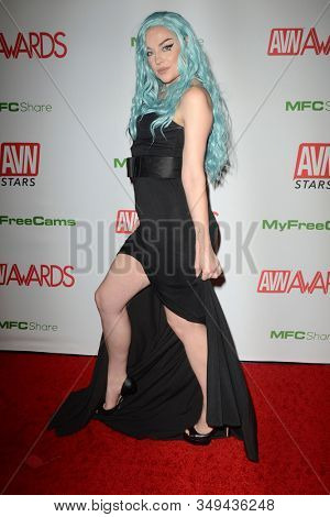 LAS VEGAS - JAN 12:  Sovereign Syre at the 2020 AVN (Adult Video News) Awards at the Hard Rock Hotel & Casino on January 12, 2020 in Las Vegas, NV