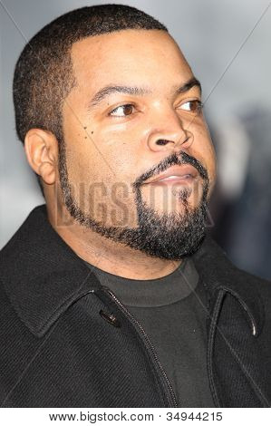HOLLYWOOD - JAN 11:  Ice Cube attends The Book of Eli premiere on January 11 2010 at Grauman's Chinese Theater in Hollywood, California.