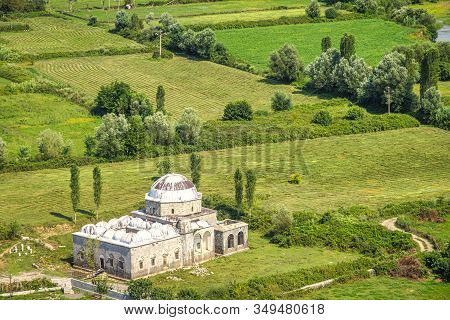 The Lead Mosque In Shkoder, Albania, Europe.