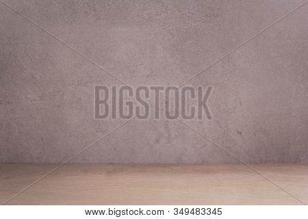 wooden table plank board background as texture surface, front view