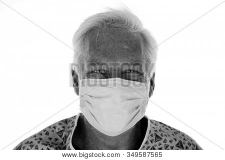 2019 Novel Coronavirus. 2019-nCoV. Wuhan, China 2019 Novel Coronavirus. A hospital patient wearing a paper mask is scared of contracting the CORONAVIRUS. World Wide Epidemic. Protect yourself today.