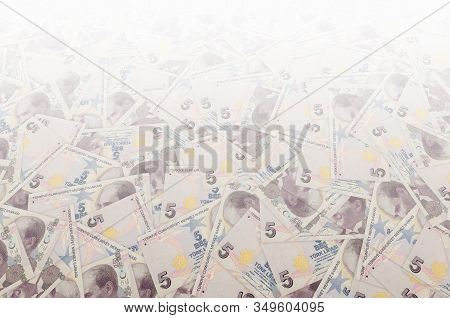 President Mustafa Kemal Ataturk Portrait From Turkey 5 Lira 2009 Banknotes