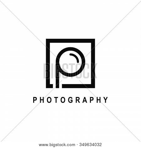 Letter P Or Initial P For Photography Logo Design