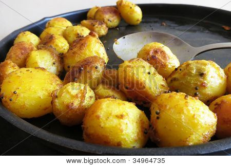 South Indian Potato Fry