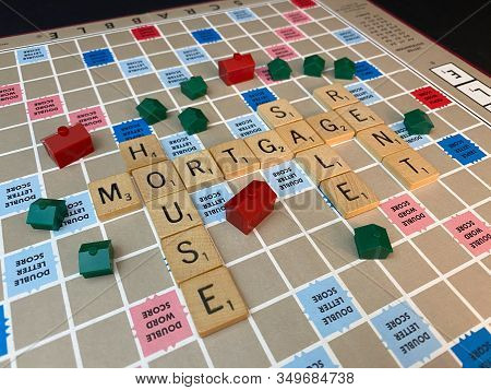 Real Estate Words Scrabble Tiles