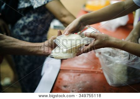 Donating Food Is Helping Human Friends In Society : Helping People With Hunger With Kindness : The C