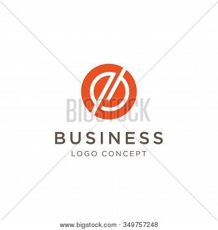 Letter O E Eo Oe Circle Logo Line Design Template . Letter O E Eo Oe Round Logo Vector