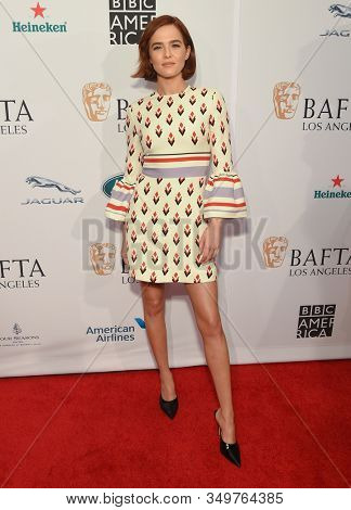 LOS ANGELES - JAN 04:  Zoey Deutch arrives for the The BAFTA Los Angeles Tea Party 2020 on January 04, 2020 in Los Angeles, CA