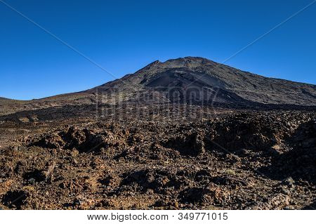 Rock Formations Made By Voolcanic Lava. Teide National Park. Tenerife, Canary Islands