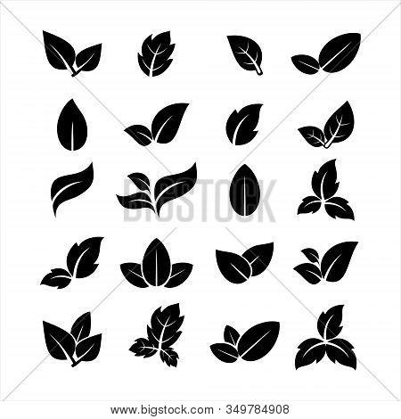leaf Icon, leaf Icon Eps10, leaf Icon Vector, leaf Icon Eps, leaf Icon Jpg, leaf Icon Picture, leaf Icon Flat, leaf Icon App, leaf Icon Web, leaf Icon Art, Leaf icon set. Simple set of leaf vector icons for web design isolated on white background.