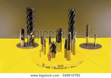 Solid Milling Tools  Used For Metalwork